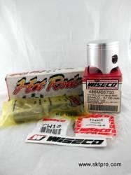 Kit Pistão Wiseco, Biela Hot Rods, Moto Kawasaki KX125 1982-1985, 486M05700