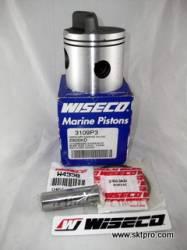 Pistão Wiseco,motor de popa,Mercury,35,40,60,65,70,75,80,85,90,115,135hp