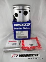 Pistão,Wiseco,motor de popa,Mercury,XR4,2.4,175,200,225hp 3102