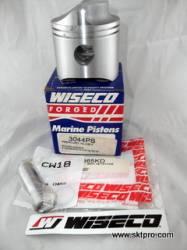 Pistão,Wiseco,Mercury, motor de popa, 40,45,50hp,1970 a 1997
