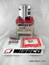 Pistão Wiseco Moto Kawasaki KX80, 1988 a 2000