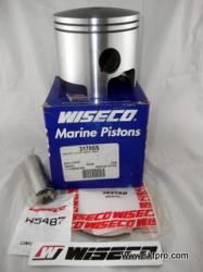 Pistão,Wiseco,motor de popa,Mercury,V6,3.0,liter,1994 a 1999