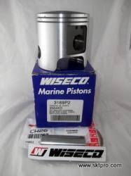 Pistão,Wiseco,motor de popa,Yamaha,250,hp, STD 3169PS