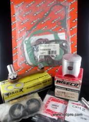 KIT PISTÃO WISECO Completo com Biela, Retentores e Jogo de Juntas Moto Yamaha YZ80 1986-1987