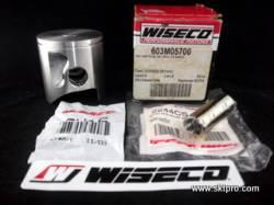 Pistão Wiseco Moto Kawasaki KX125 1991