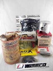 Kit Pistão Wiseco, Biela Hot Rods, Camisa Cilindro L.A.Sleeve, Jogo Juntas, Kit Retentores, Moto Kawasaki KX125 1993